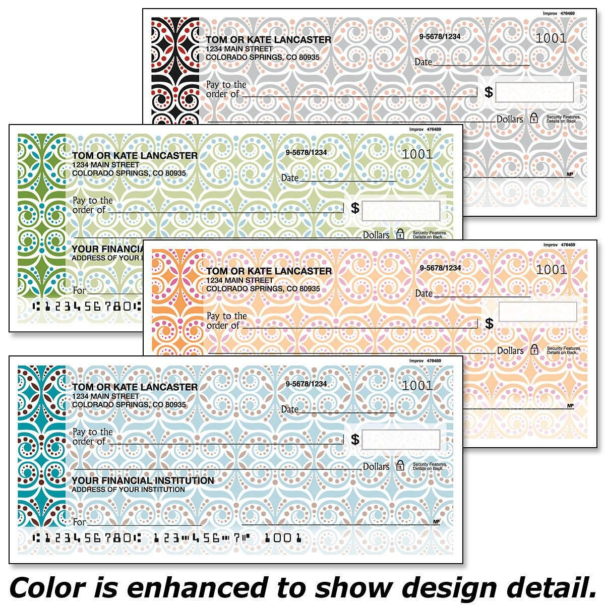 Improv Personal Checks