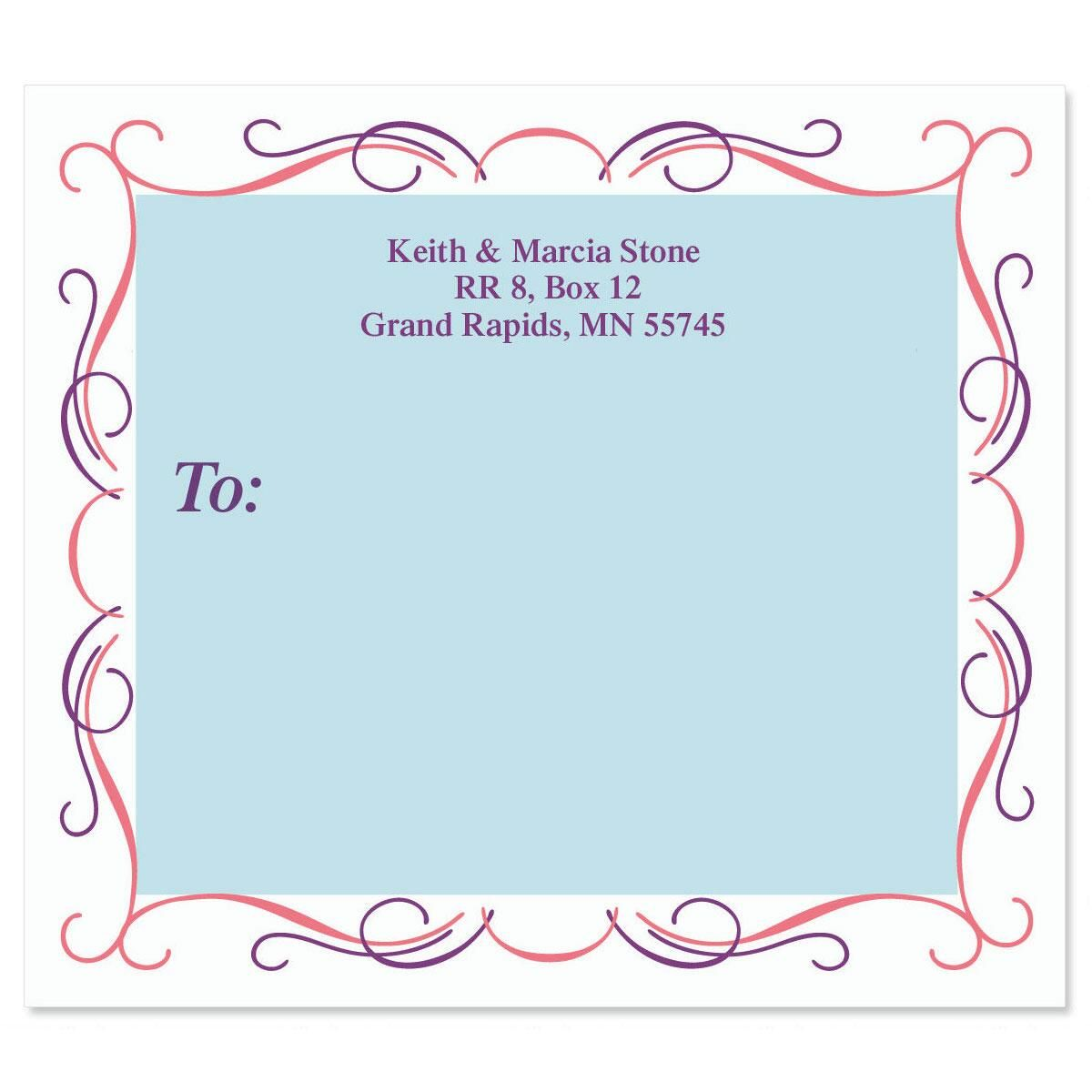 Cartouche Package Labels
