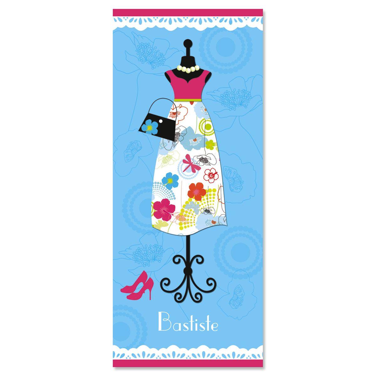 Dress Up  Slimline Custom Note Cards