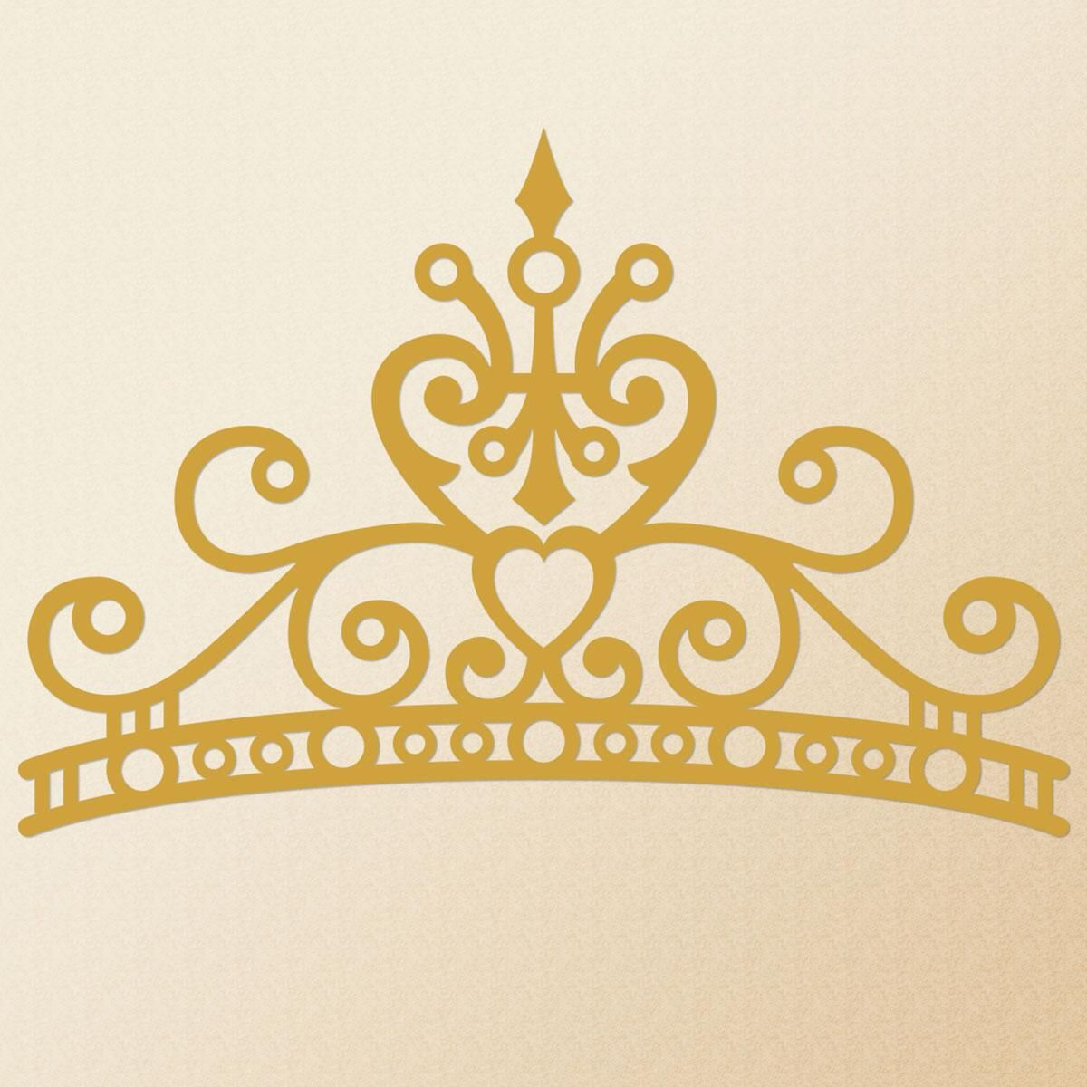 Crown Nonpersonalized  Vinyl Wall D&#233cor