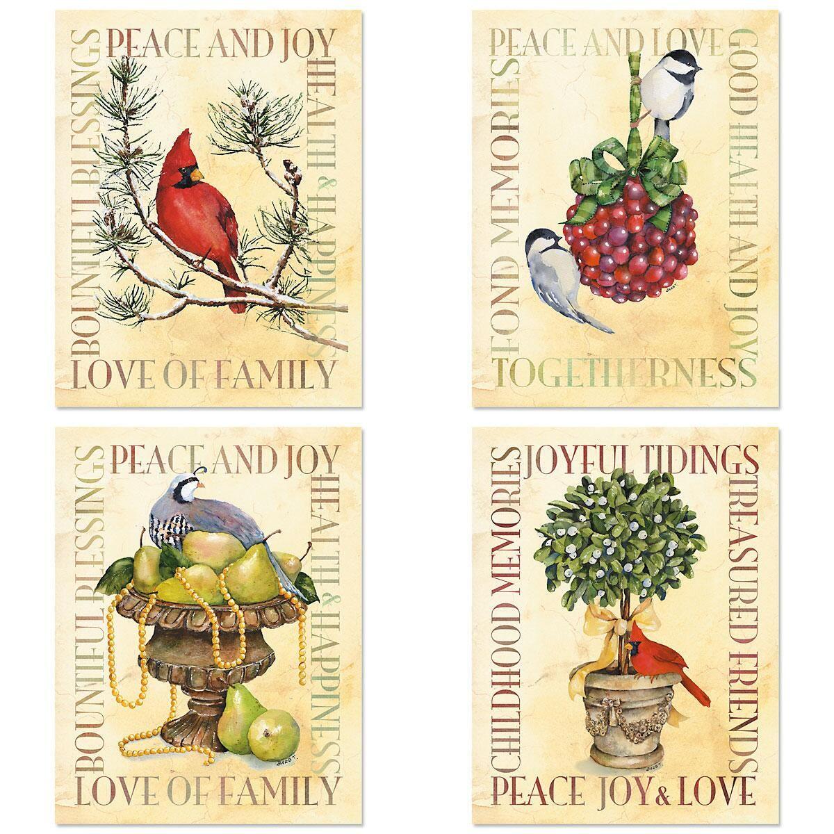 Joyful Tidings  Postcards  (4 Designs)