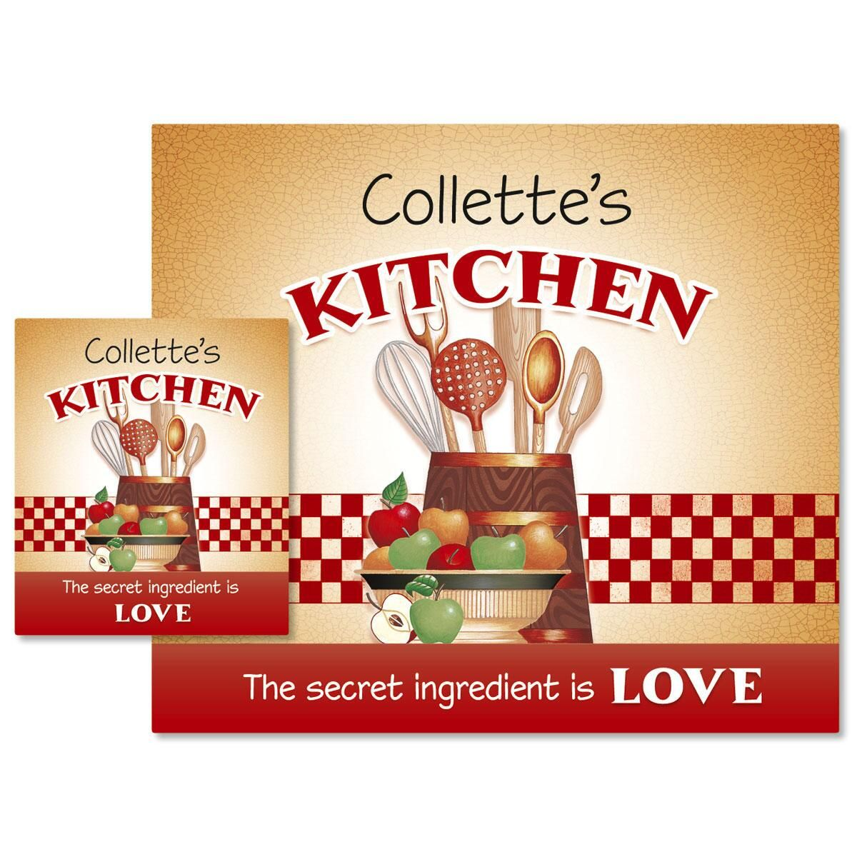 Secret Ingredient Canning Labels - Large