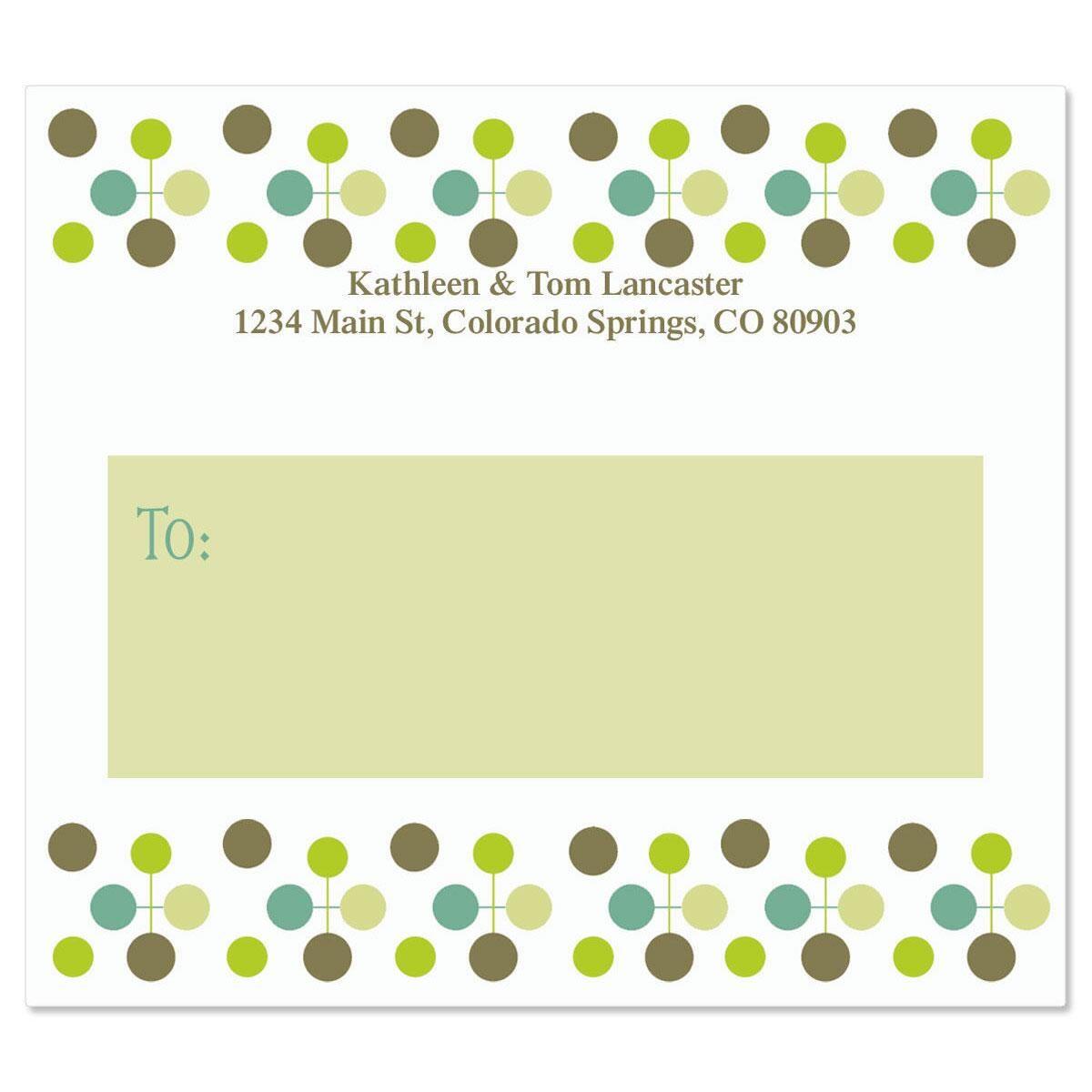 Citron Molecule Package Labels