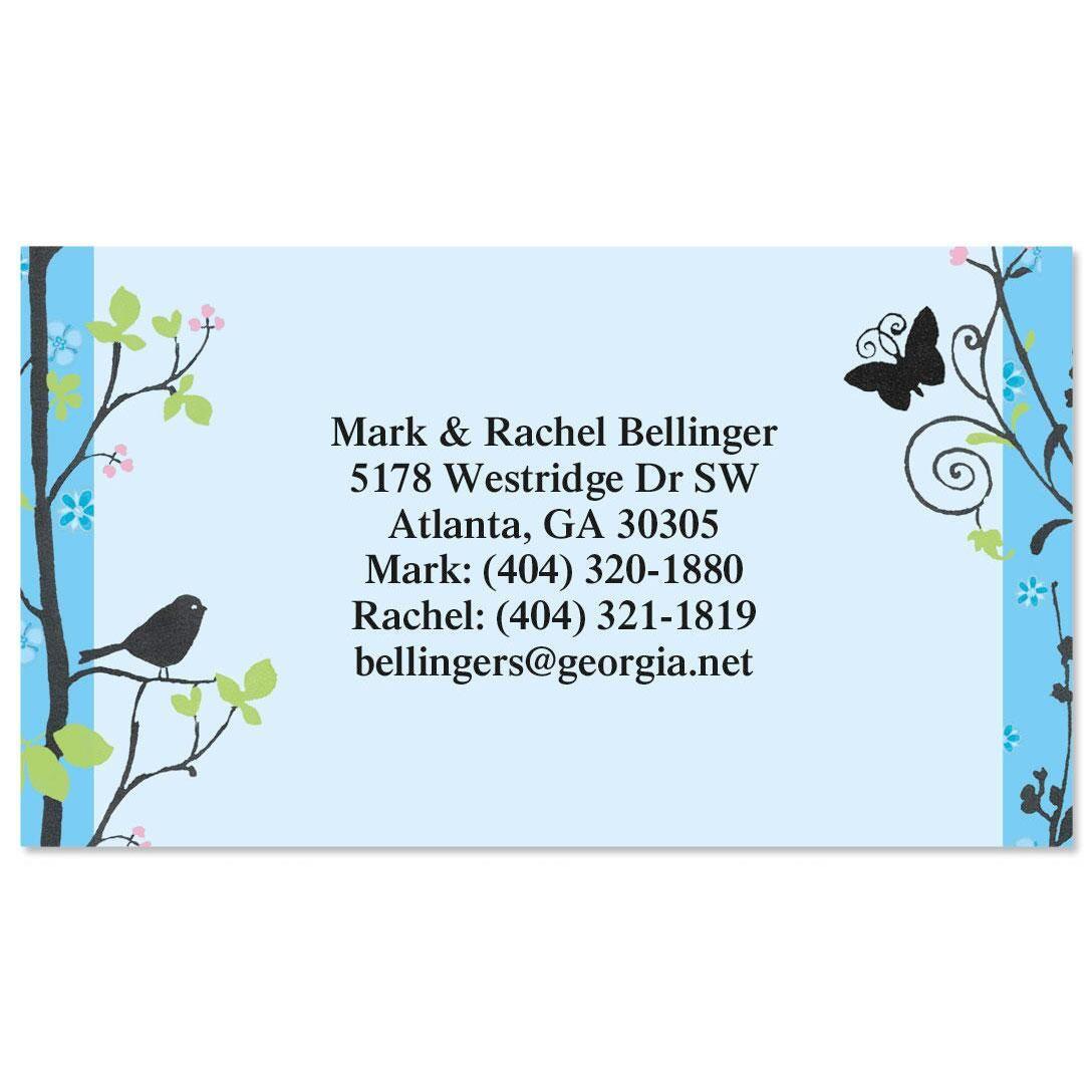 Songbird  Business Cards