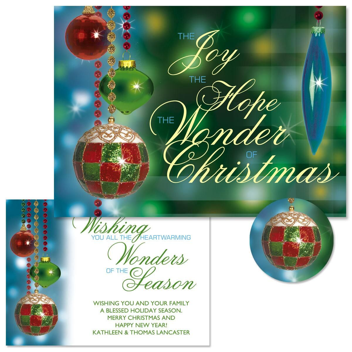 Palazzo Christmas Cards | Colorful Images