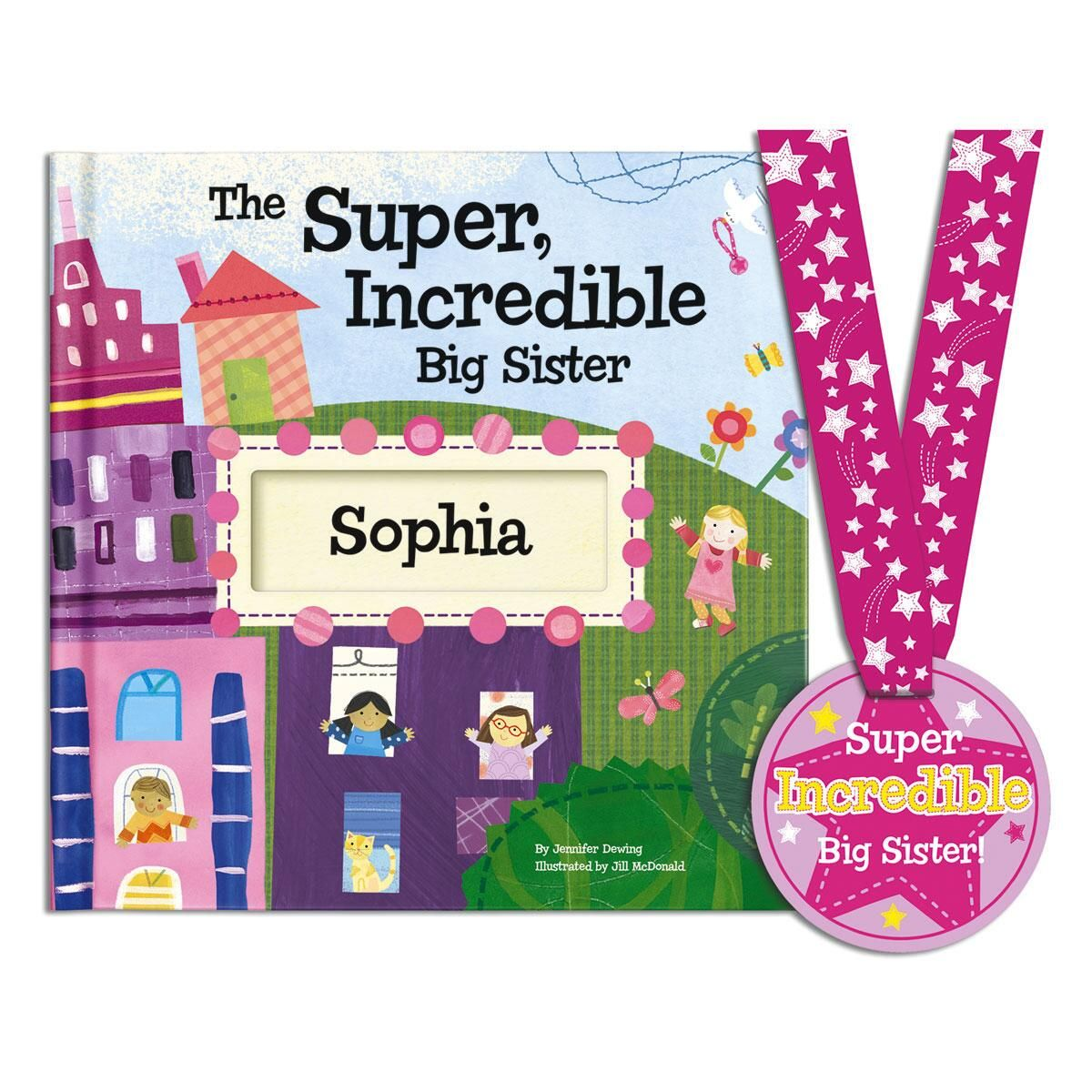 The Super Incredible Big Sister Personalized Storybook