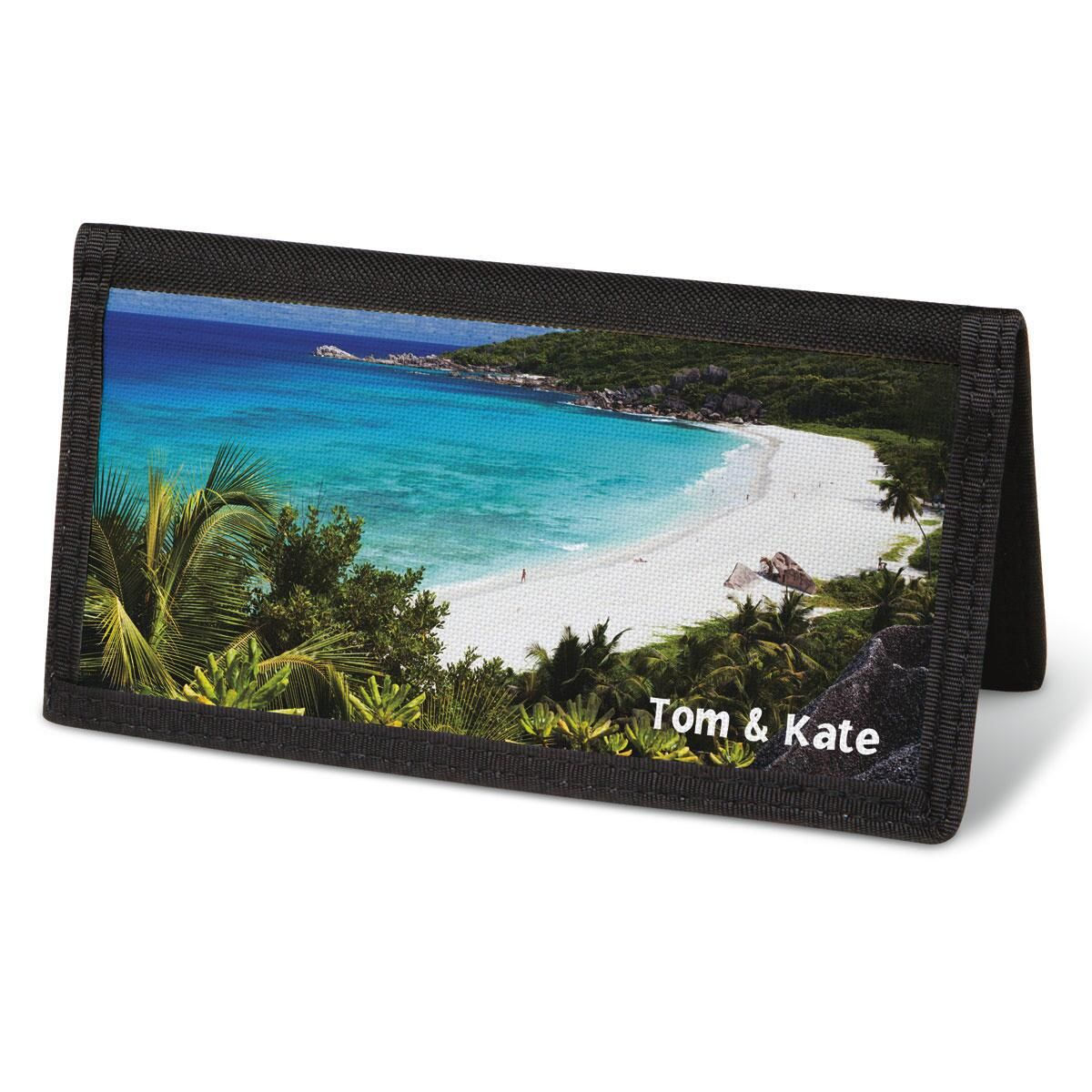 Tropical Paradise II  Checkbook Cover - Personalized