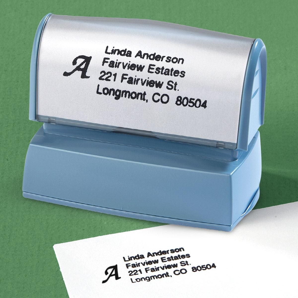 Initial Address Stamp