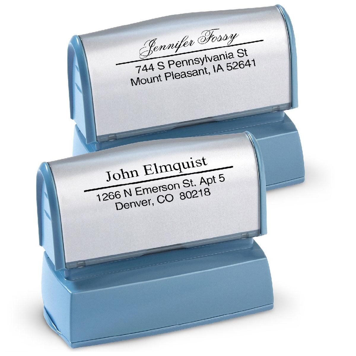 Accent Line  Address Stamp