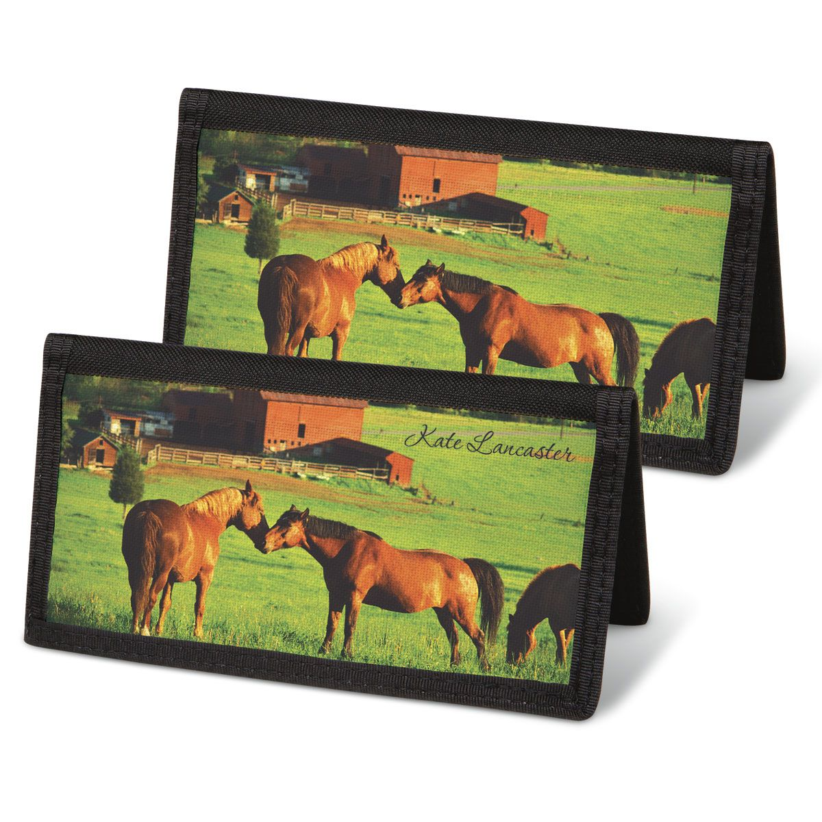 Horse Enthusiast  Checkbook Cover