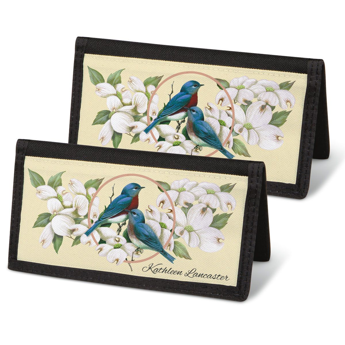 Birds & Blossoms Checkbook Cover