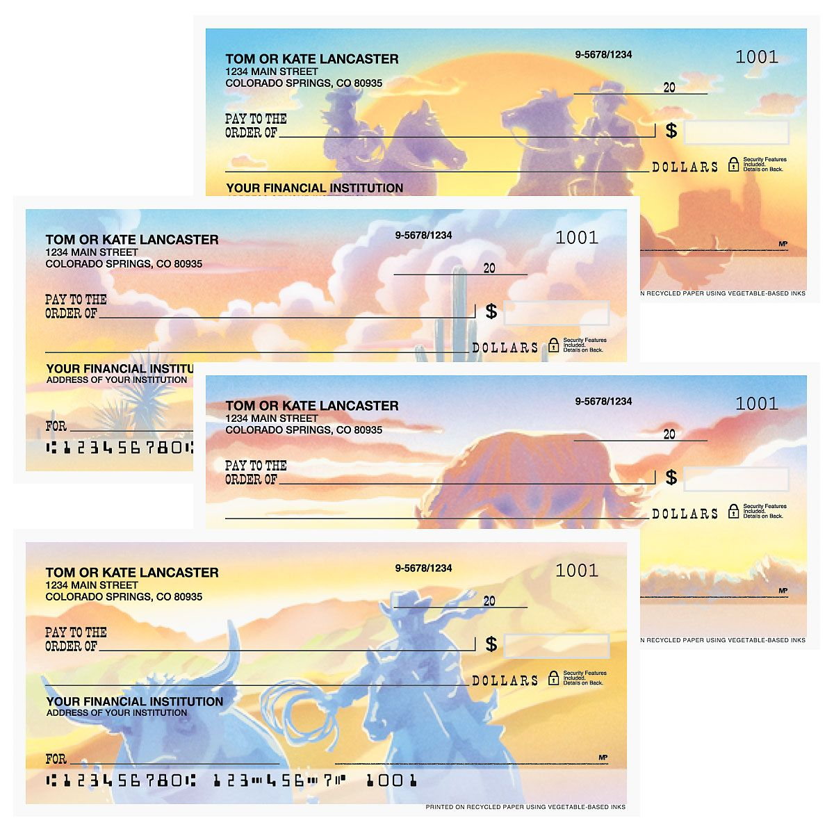 Western Country Duplicate Checks