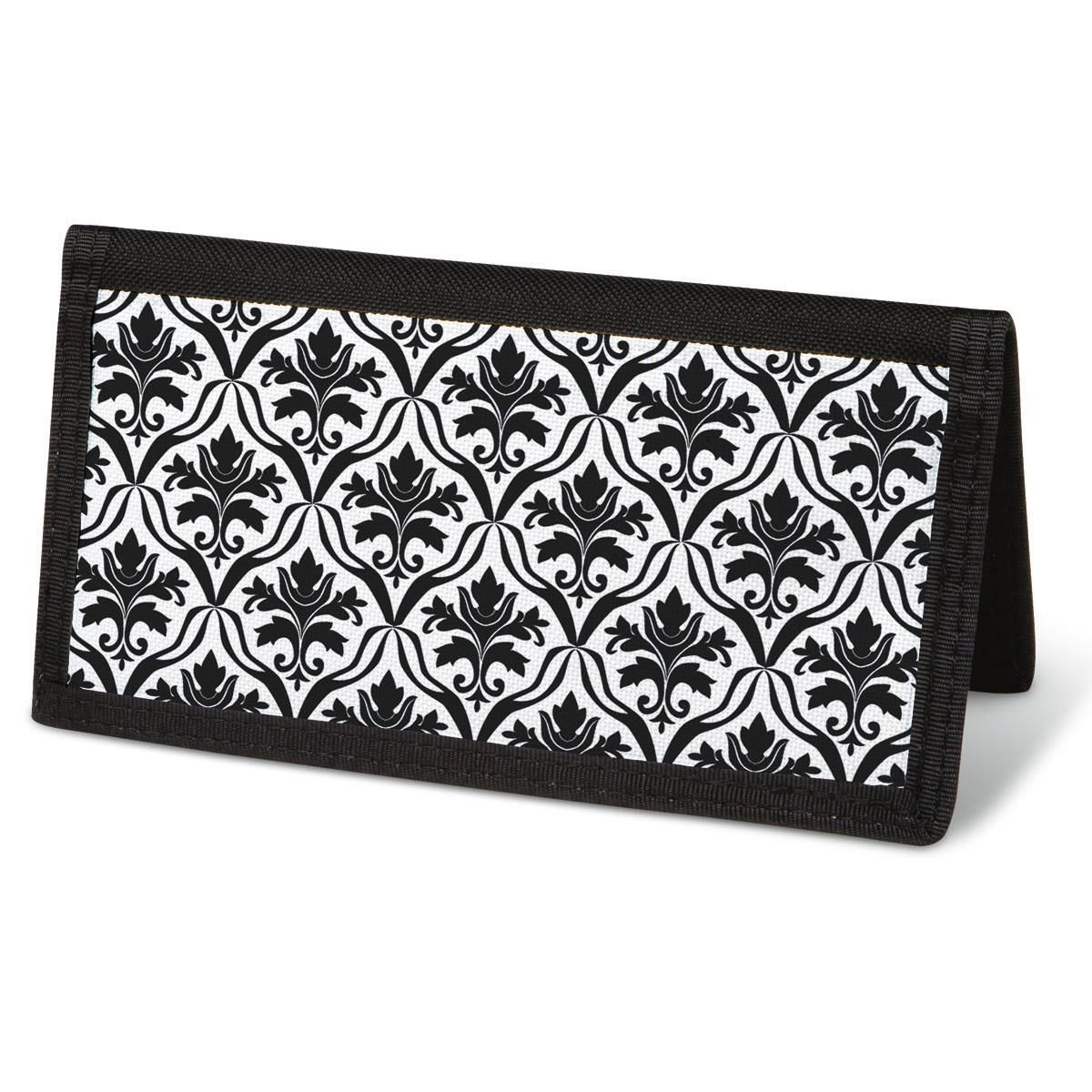 Elegant in Black  Checkbook Cover - Non-Personalized