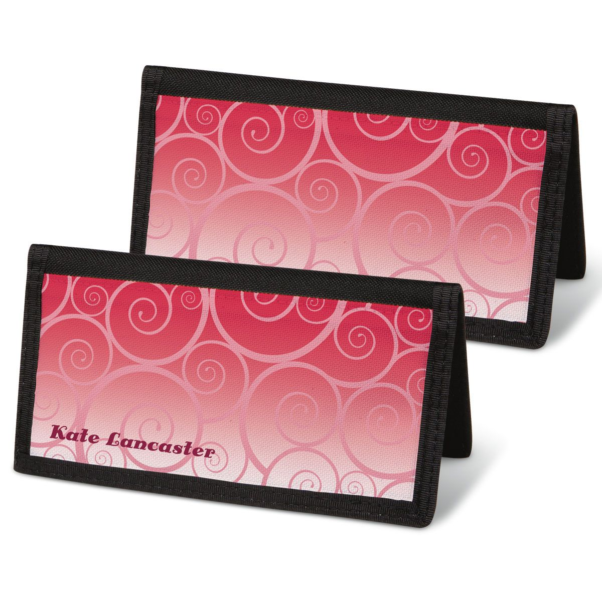 Swirly Girly Personal Checkbook Covers