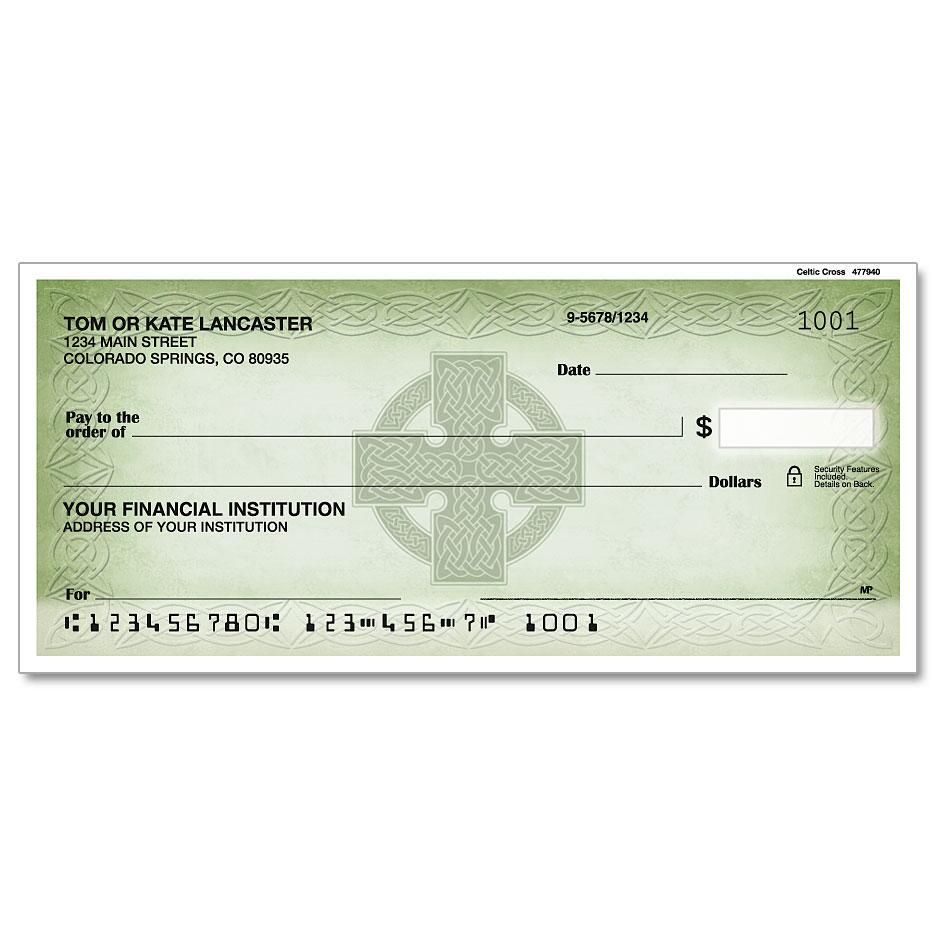 Celtic Cross Single Checks