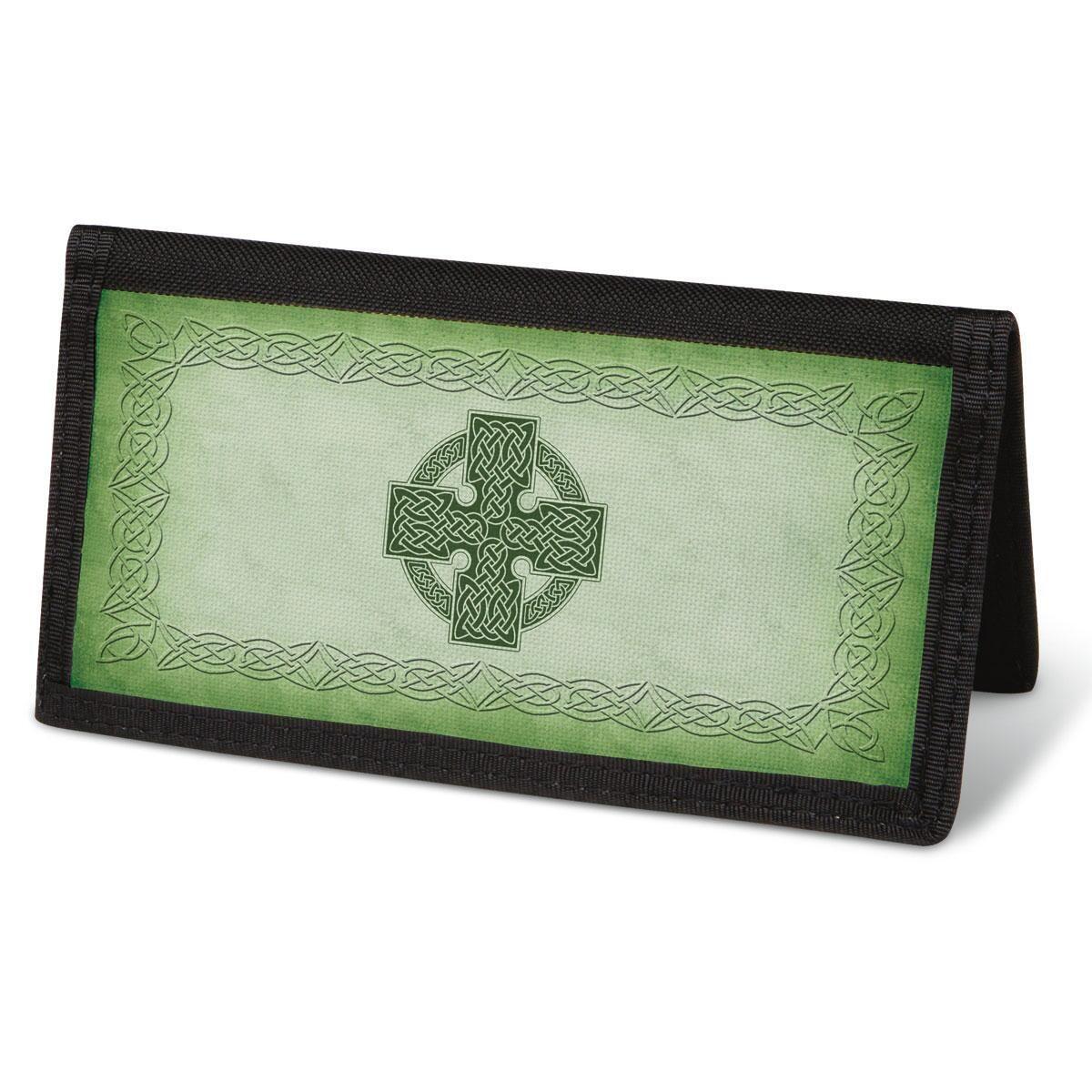 Celtic Cross  Checkbook Cover - Non-Personalized