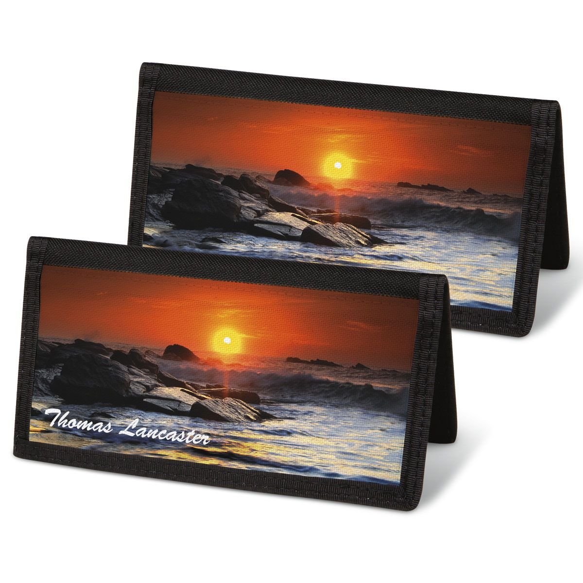 Dramatic Shores Personal Checkbook Covers