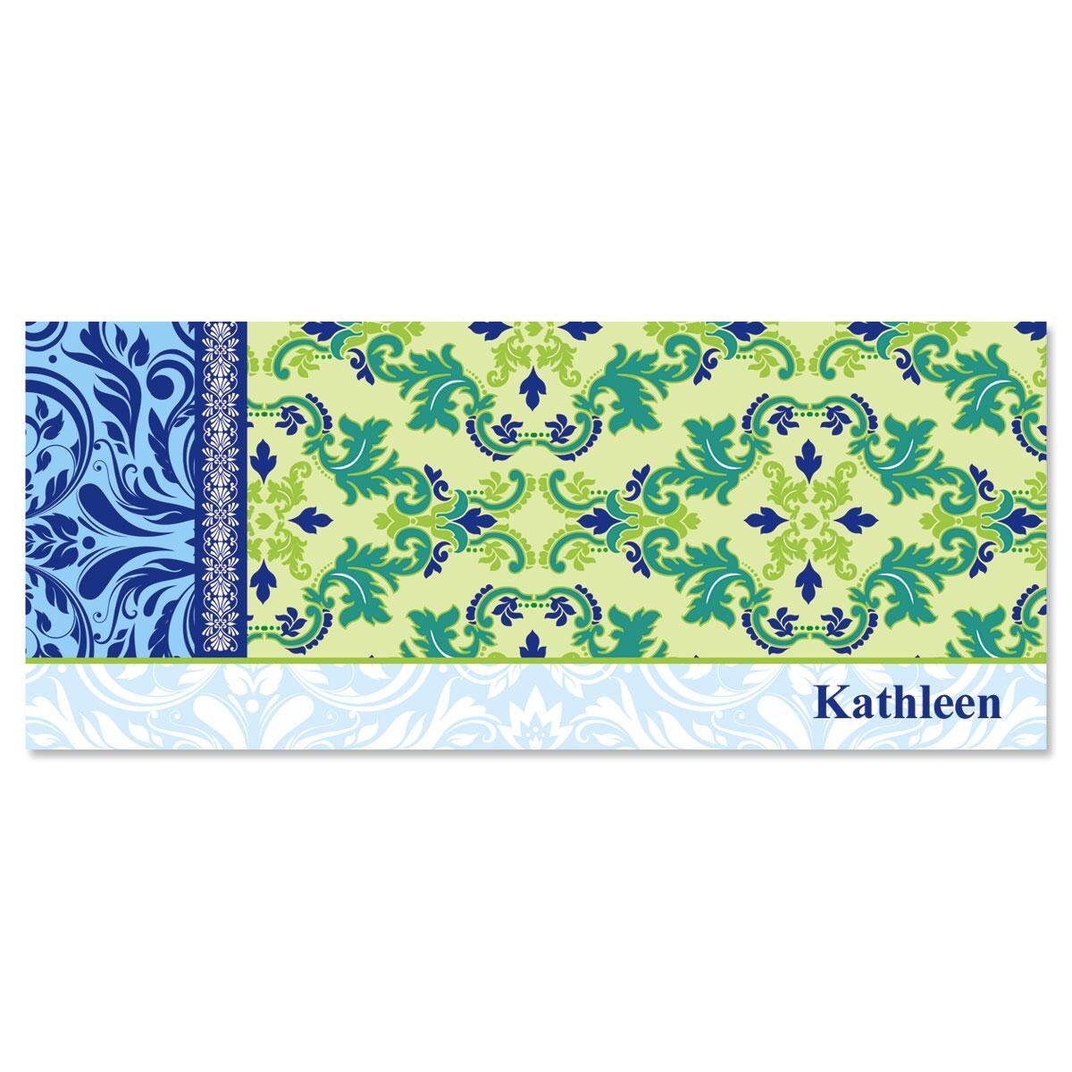 Fantasy Collage Slimline Custom Note Cards