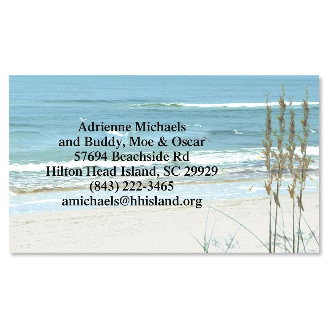 Seashore Business Card