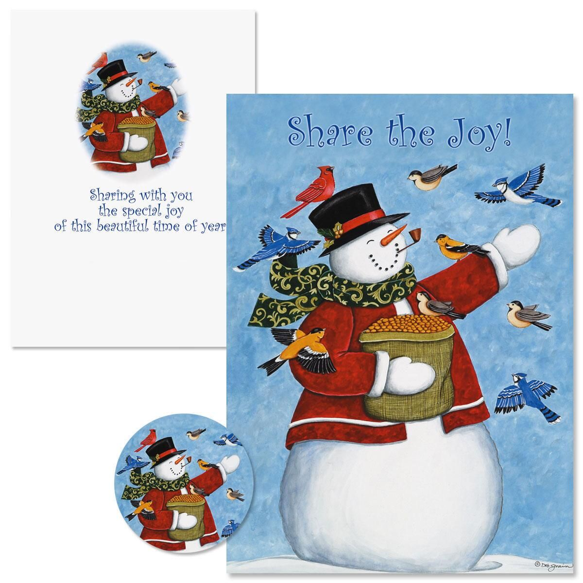 Share The Joy Christmas Cards  Nonpersonalized