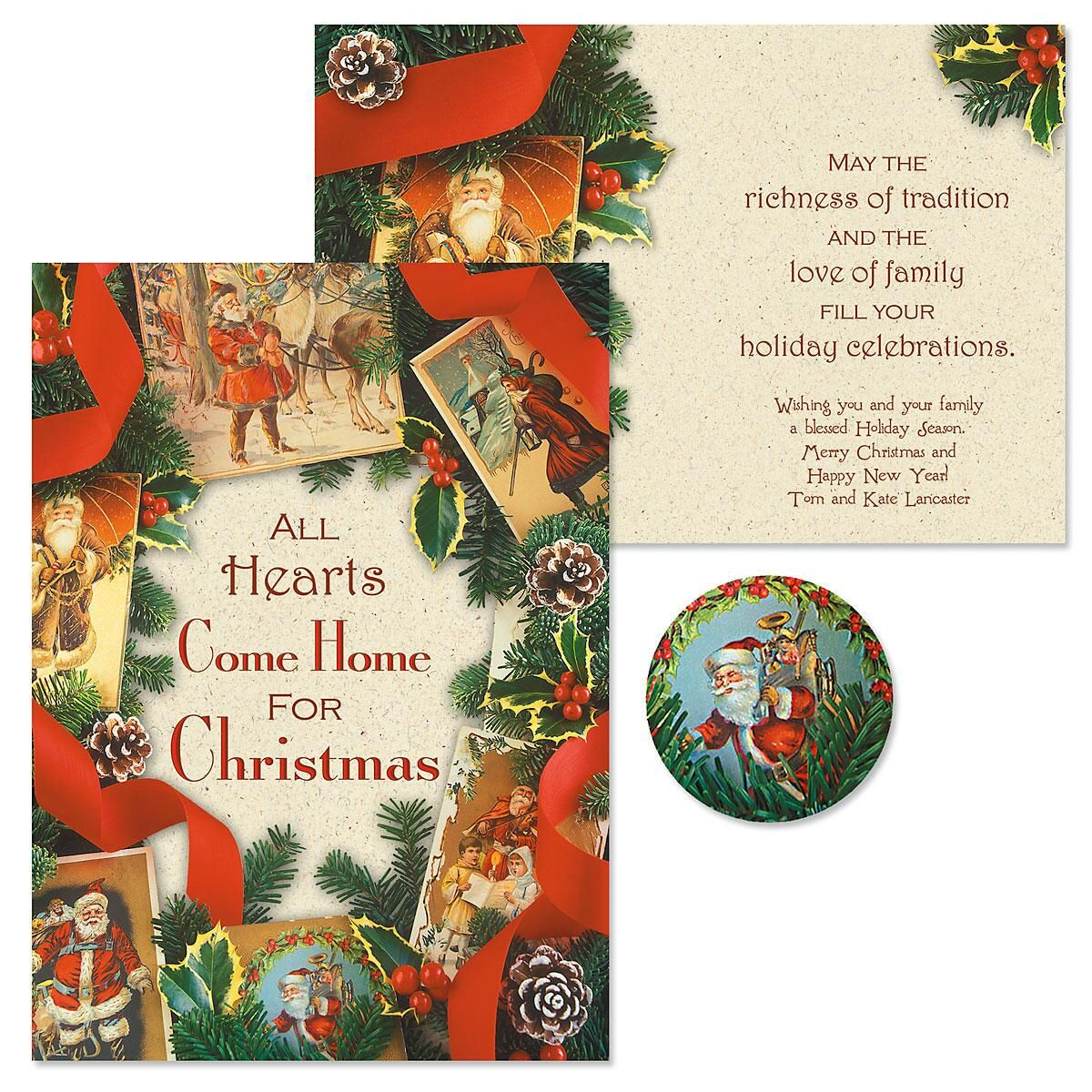Timeless Christmas Christmas Cards -  Personalized