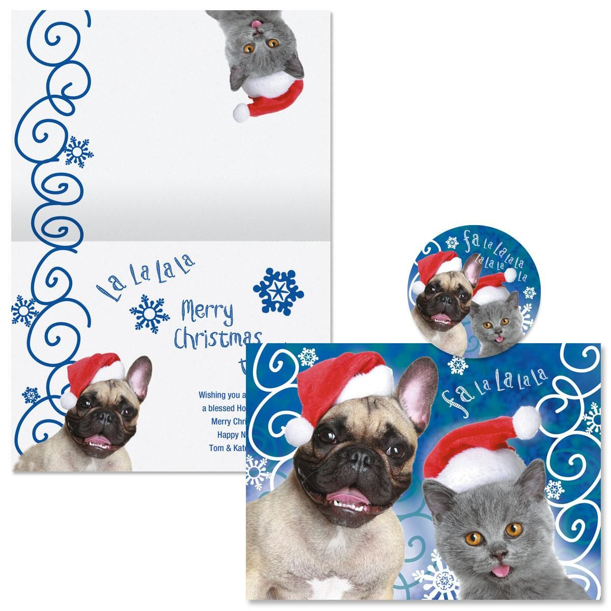 Welcoming Christmas Christmas Cards - Nonpersonalized