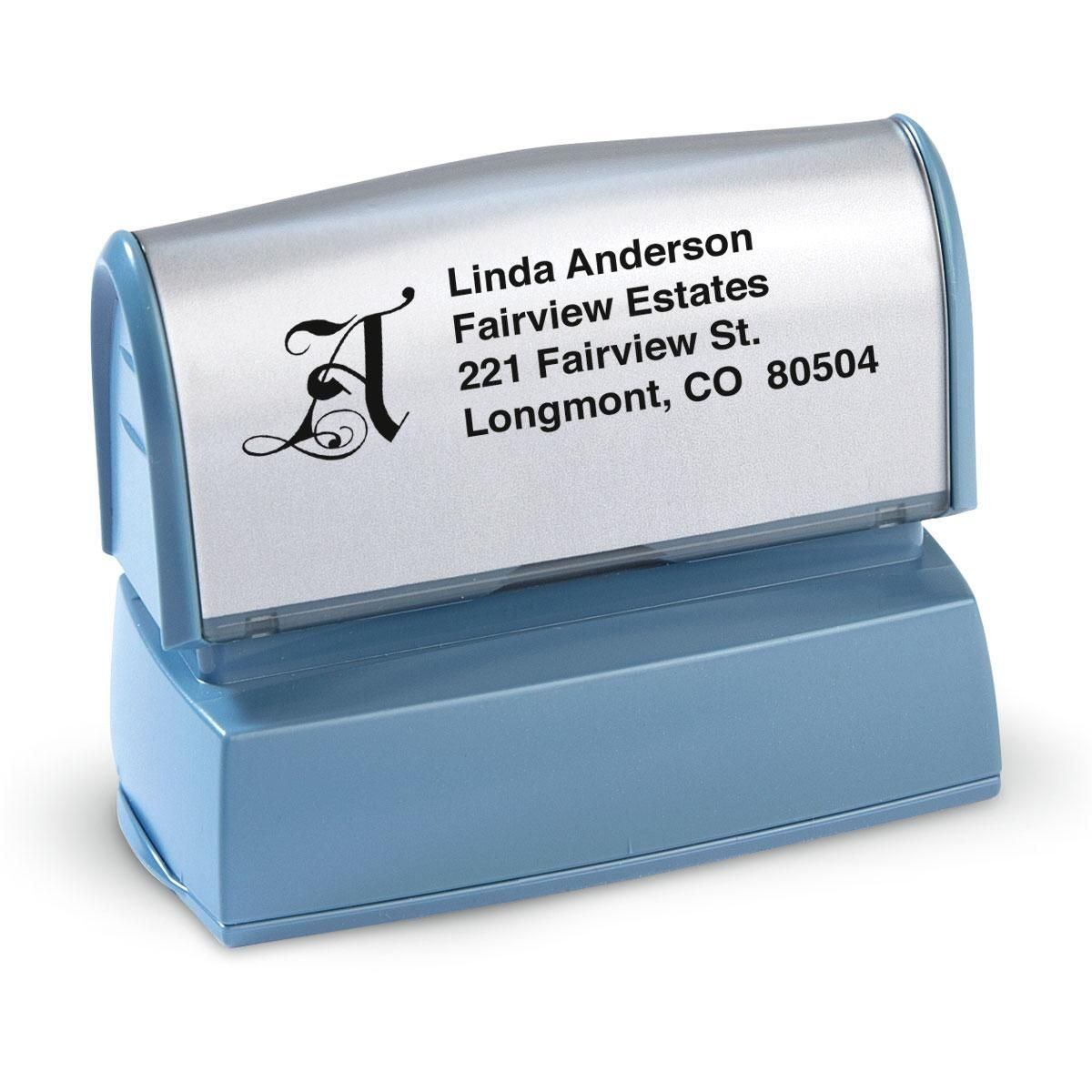 Initial Choice-Standard Address Stamp