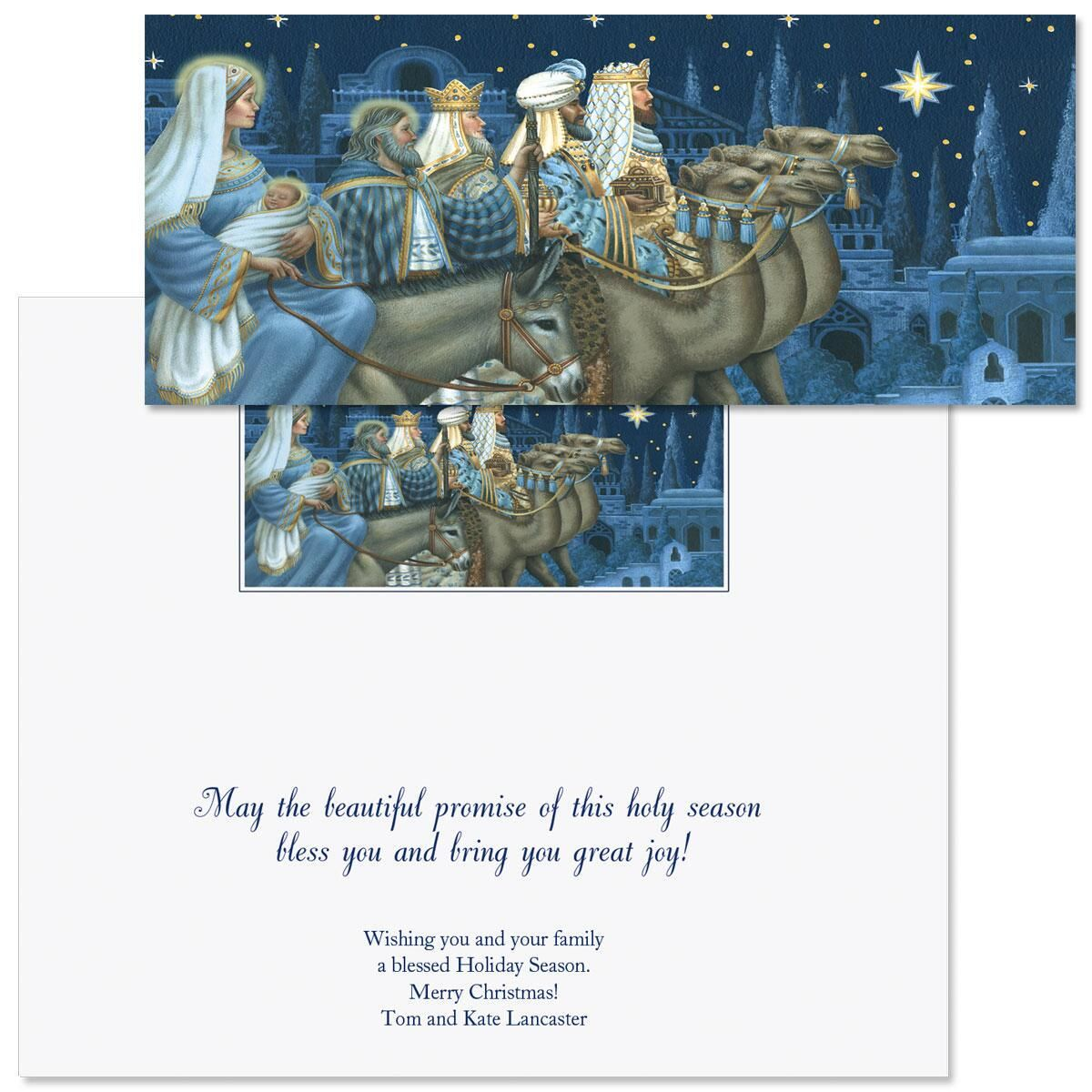 Journey of Hope Slimline Holiday Cards
