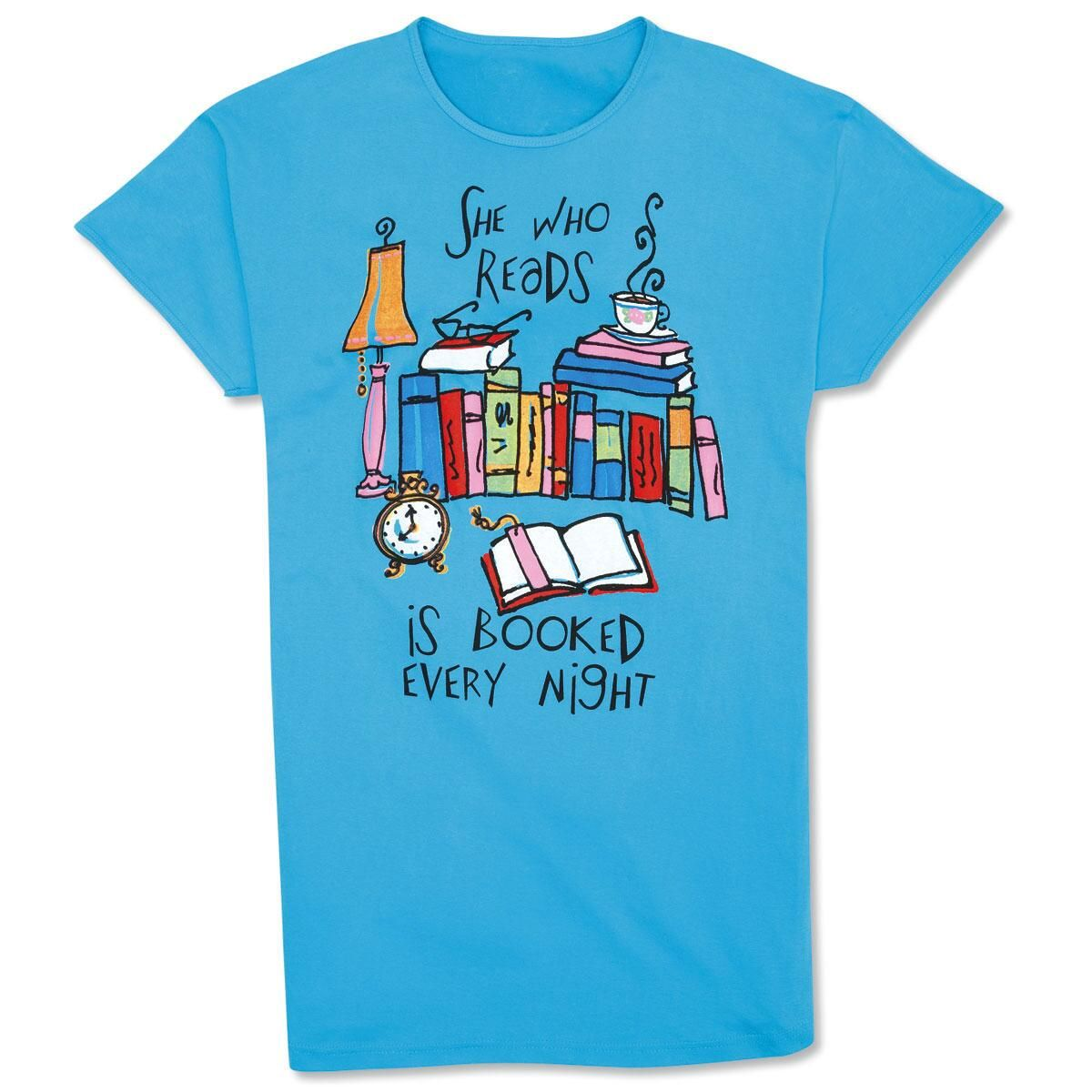 She Who Reads Nightshirt