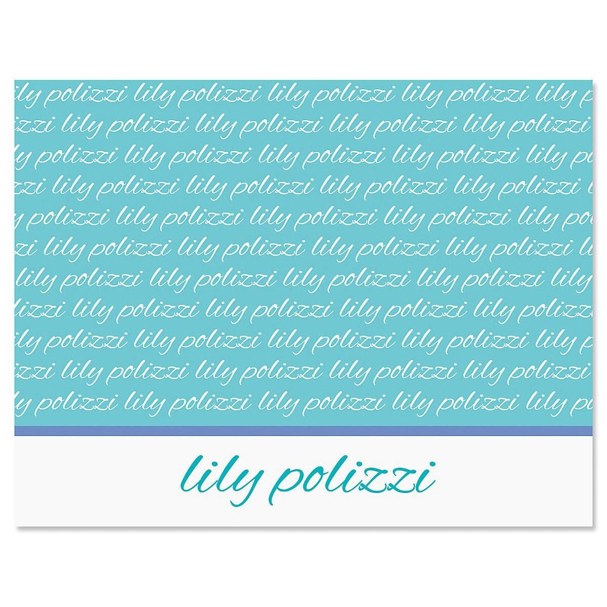 Signature Personalized Note Cards