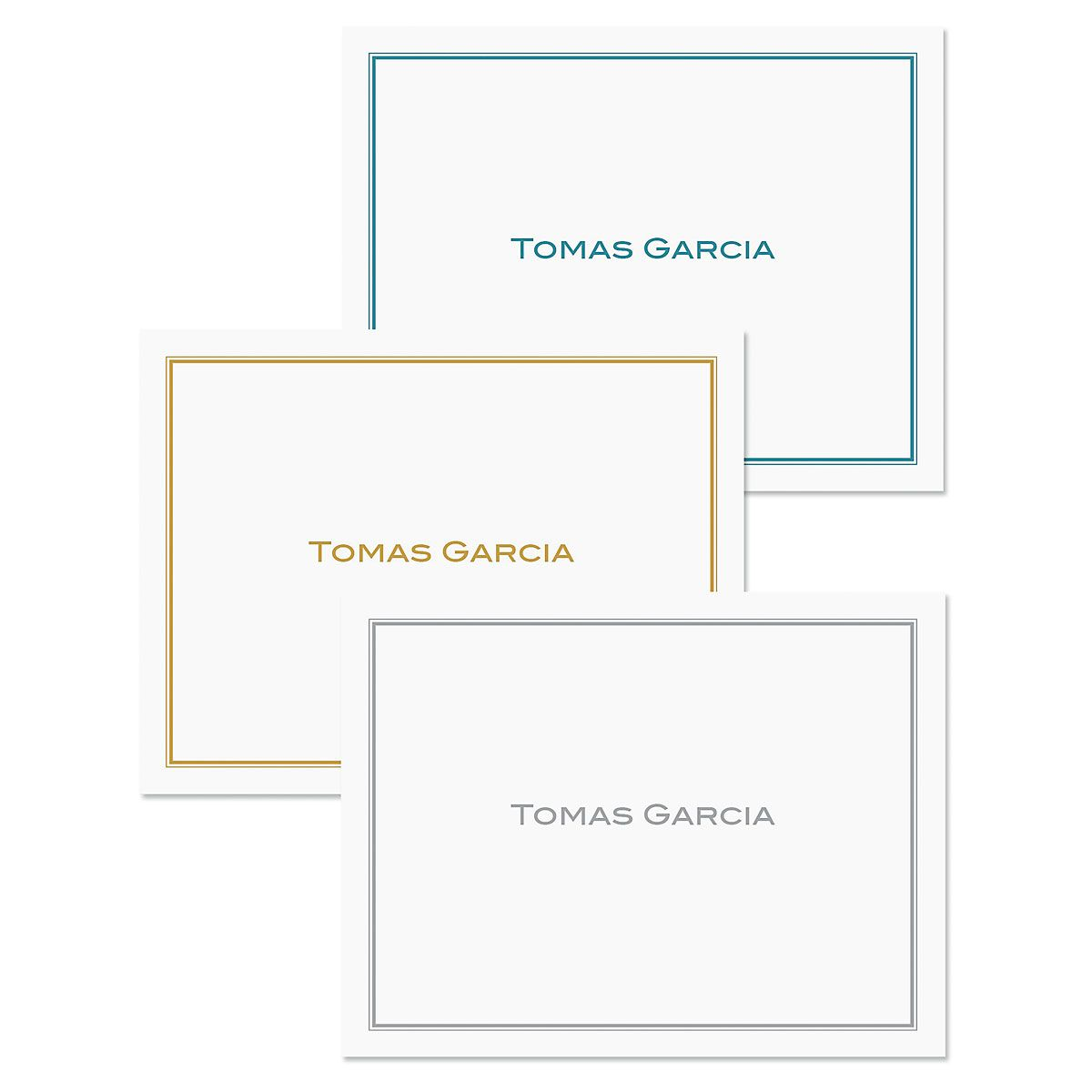 Refined Custom Note Cards