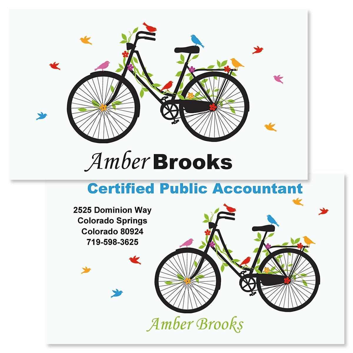 New Spin Double-Sided Business Cards