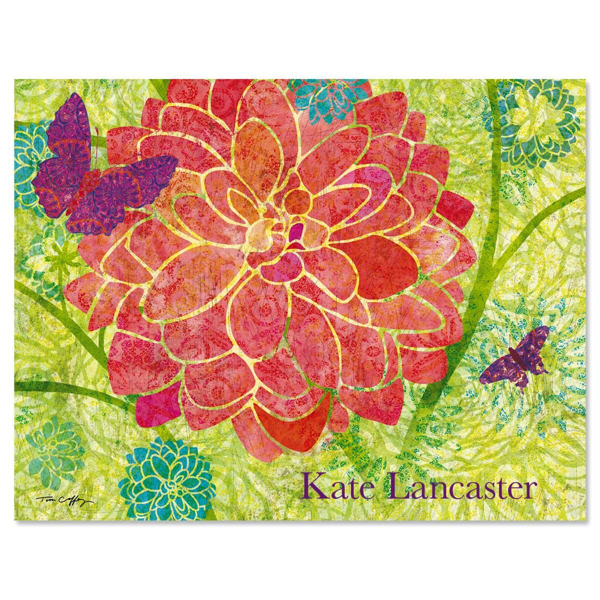 Colors of Nature  Personalized Note Cards