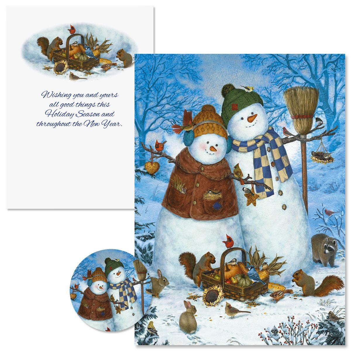 Family Christmas Cards -  Nonpersonalized