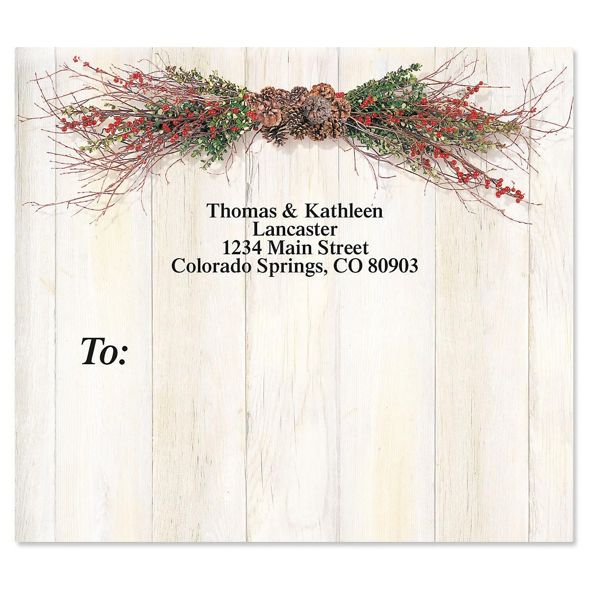 Twigs and Berries Package Labels