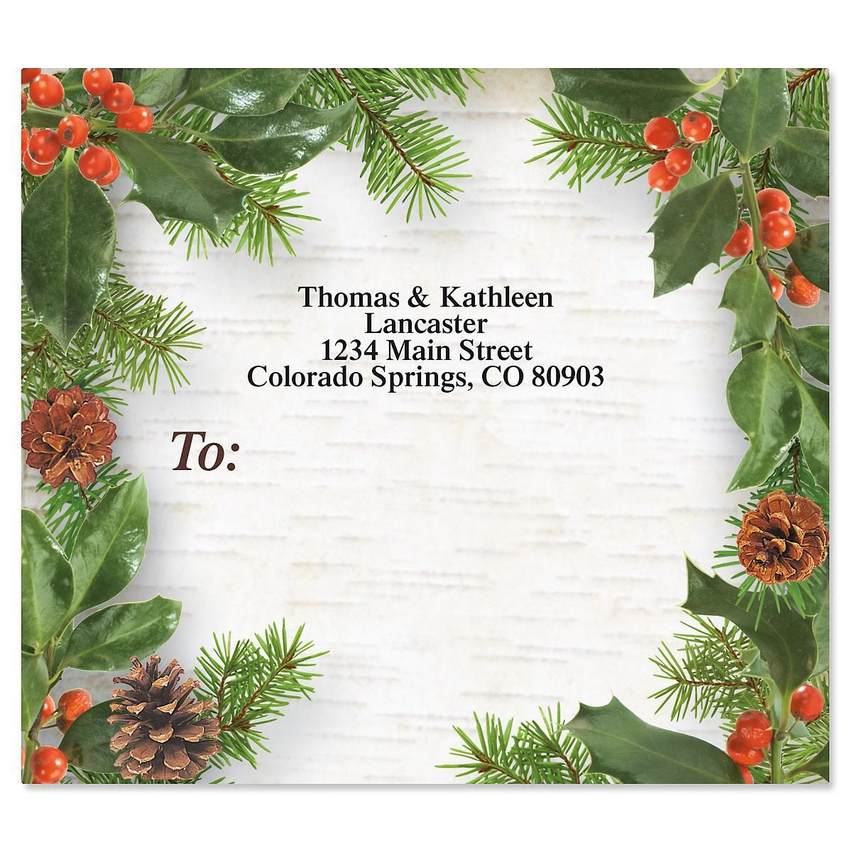 Woodland Whimsy Package Labels