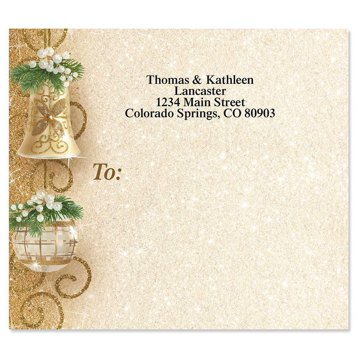 Holiday Patina Package Labels