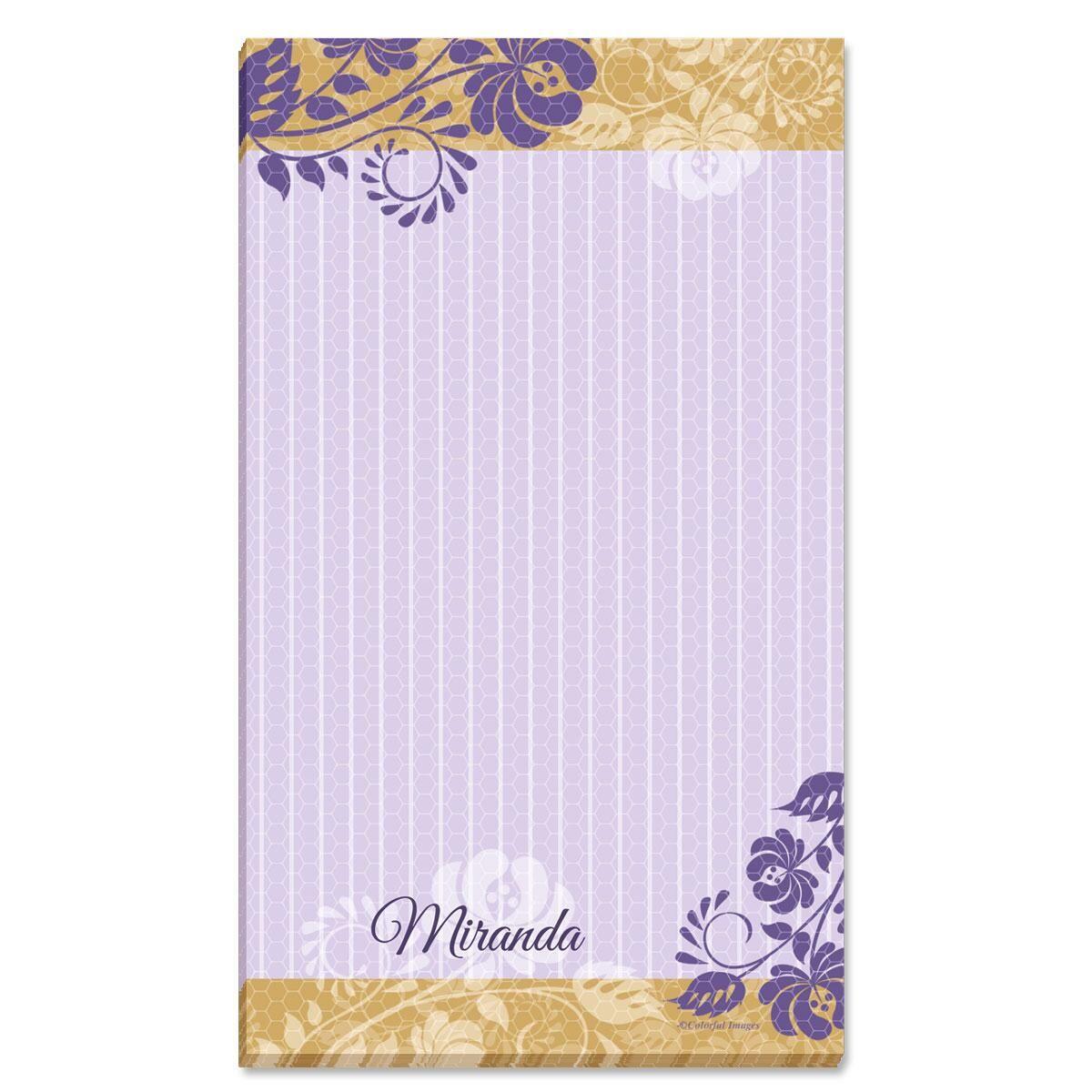 Frosty Lavender Notepad
