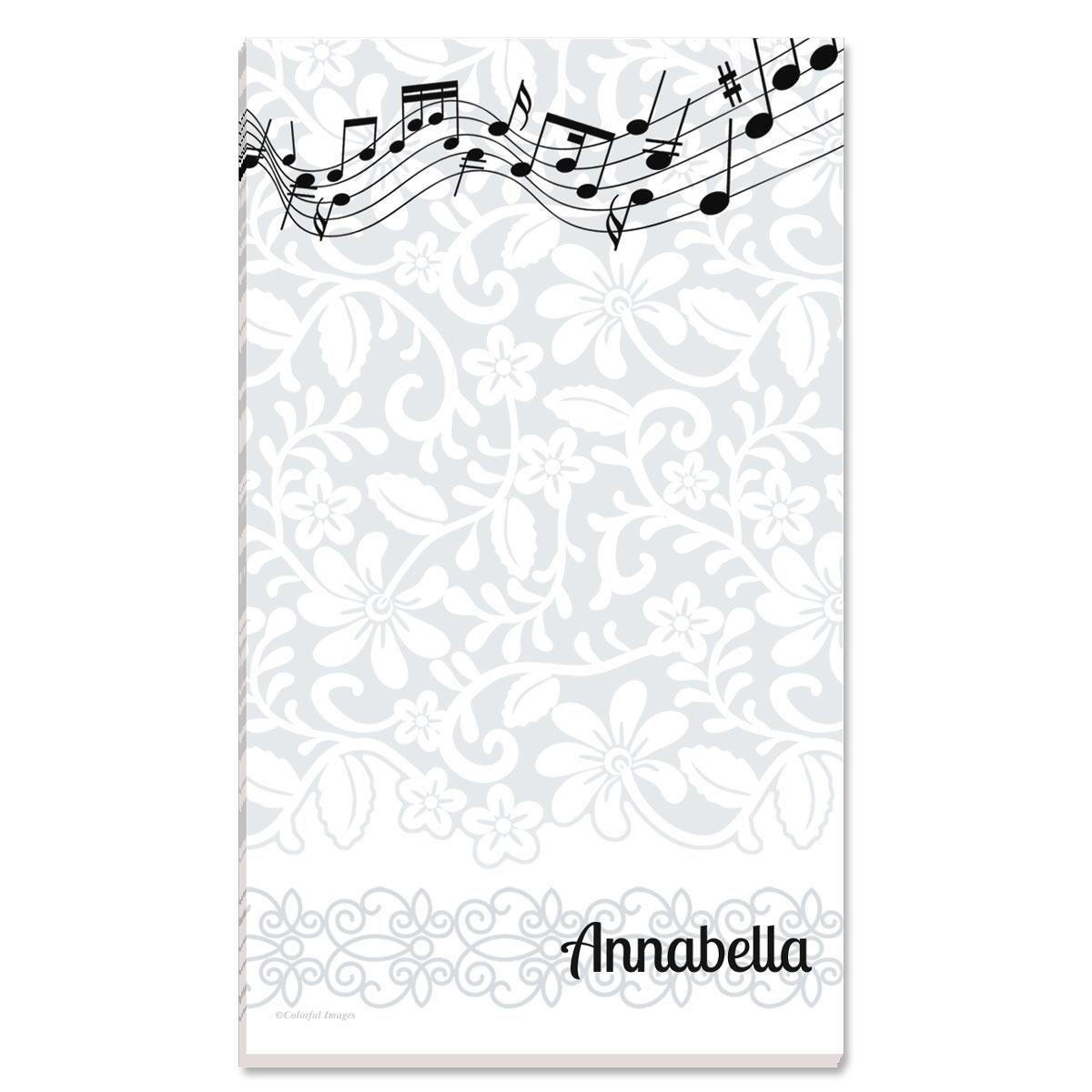 White-Grey-Black Notepad