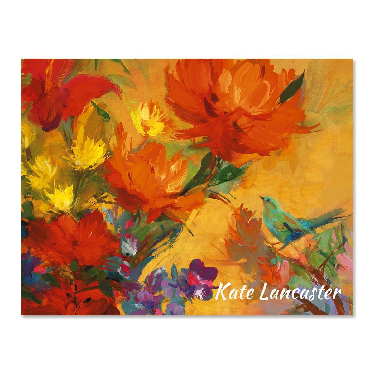 Spring Garden Personalized Note Cards