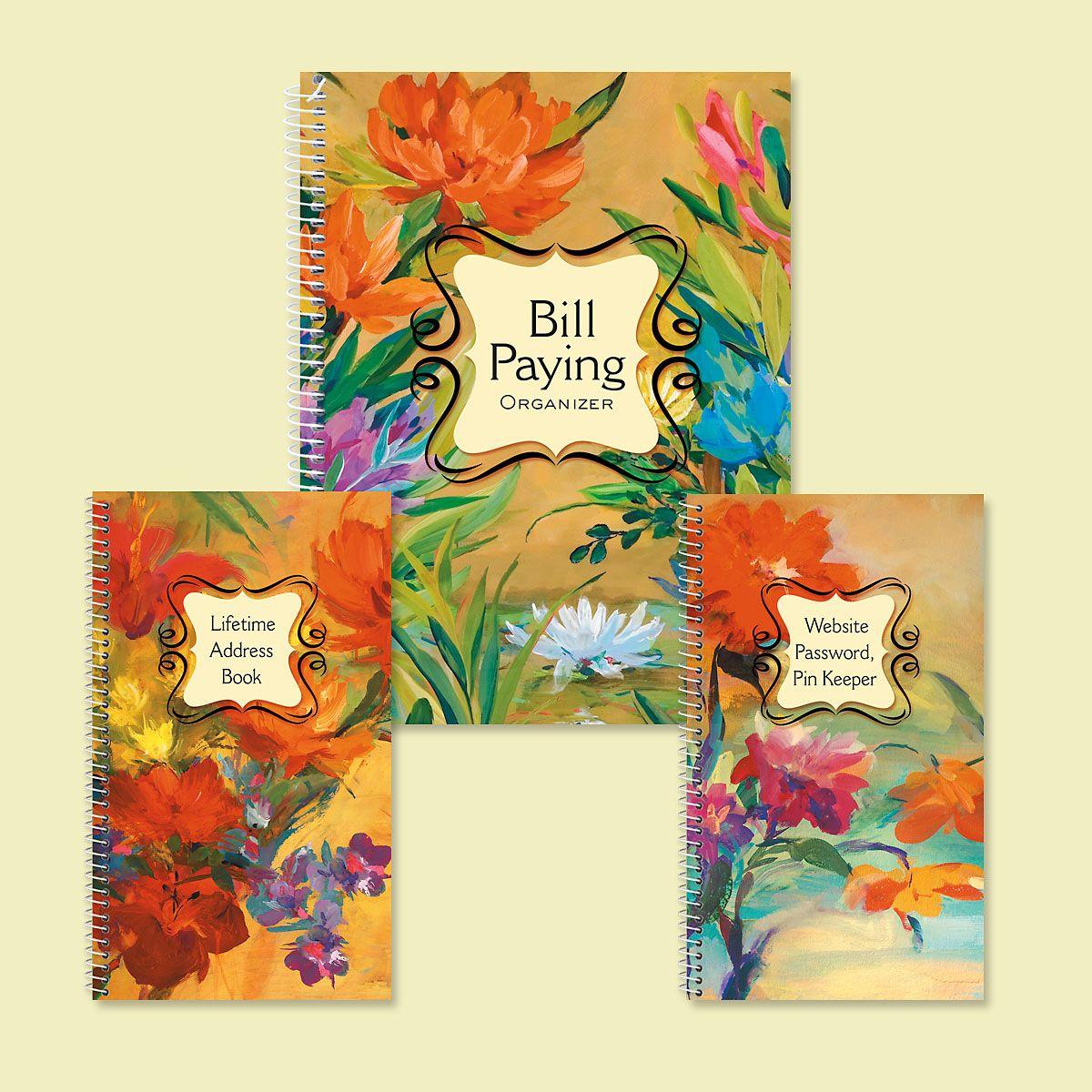 Spring Garden Organizer Books