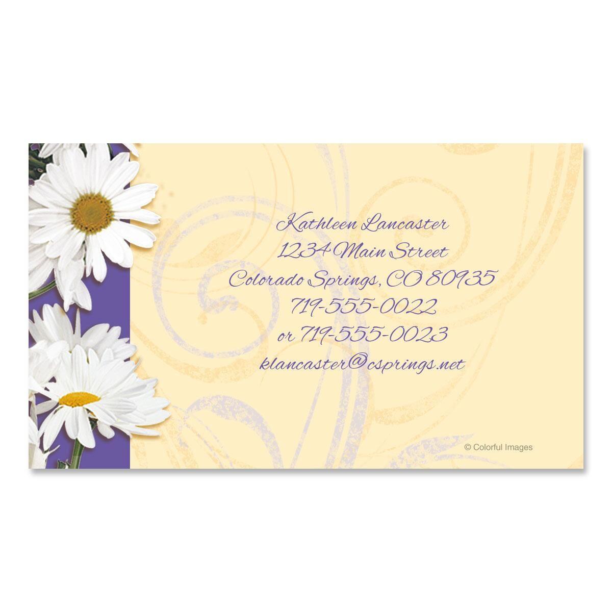Daisy Dance Business Cards