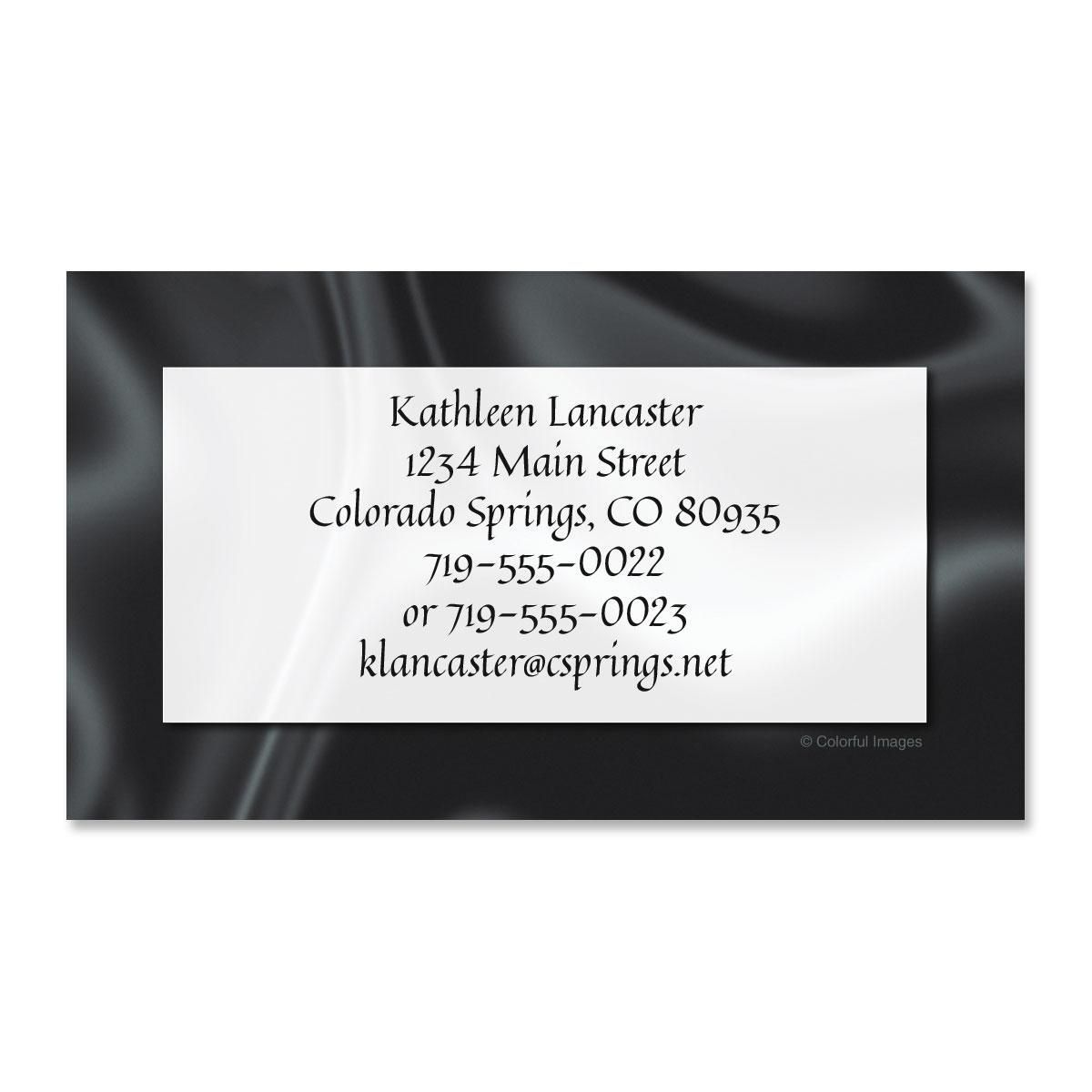 Black Tie Business Cards