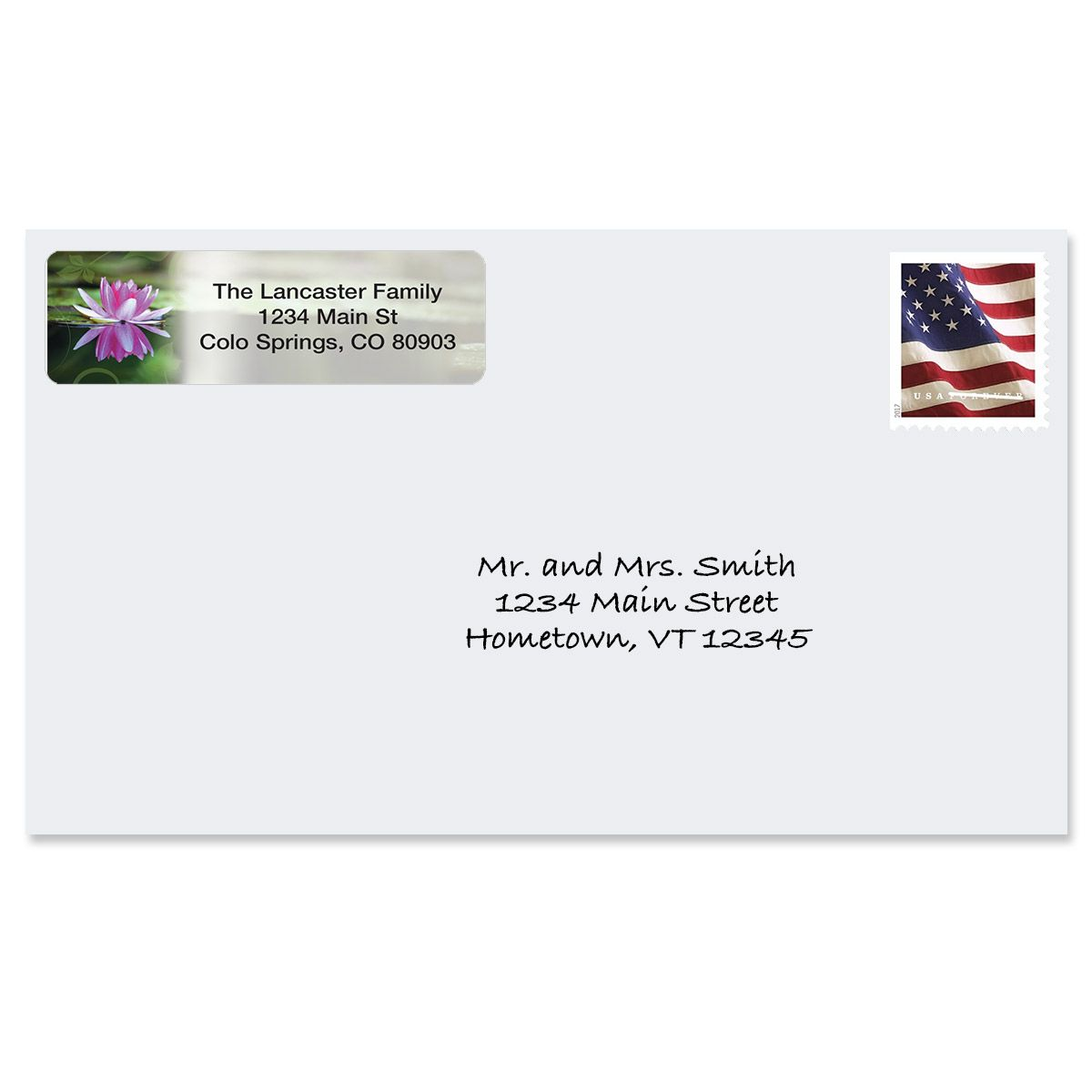 Zen Rolled Return Address Labels  (5 Designs)