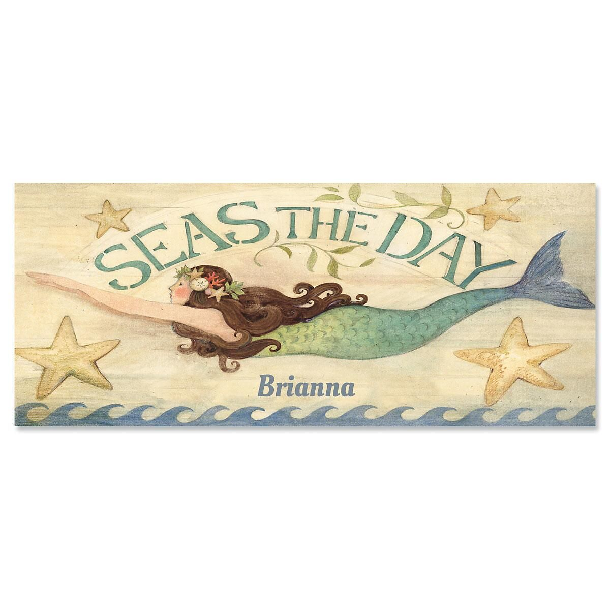 Seas The Day Slimline Note Cards