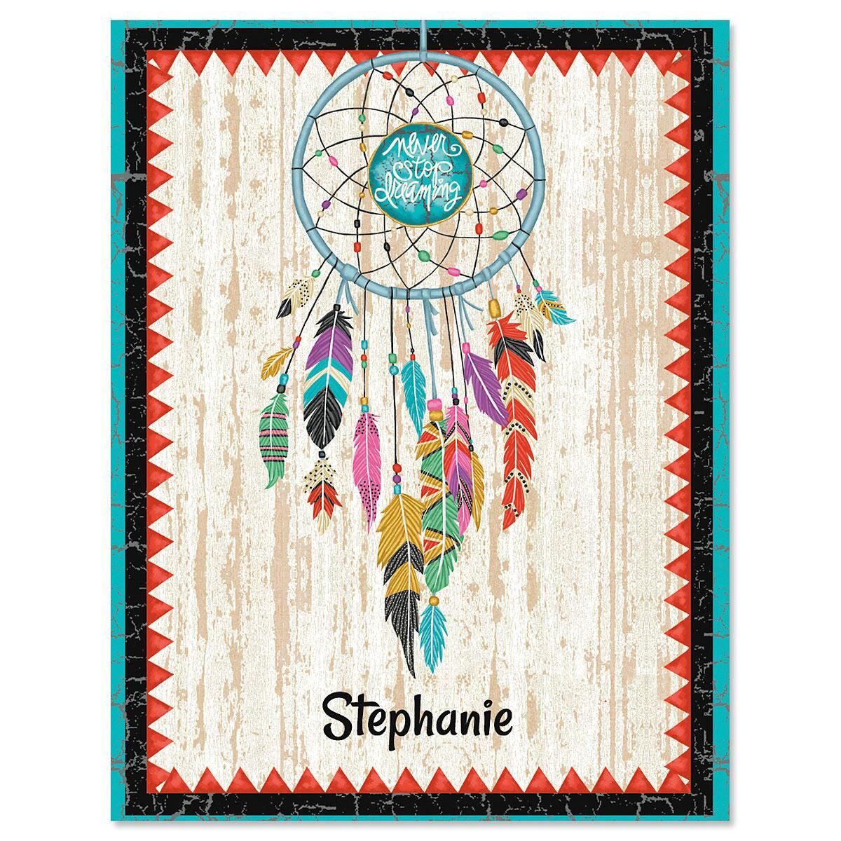 Dreamcatcher Personalized Note Cards