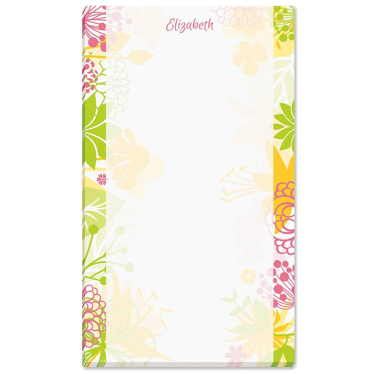 Floret Custom Memo Pads
