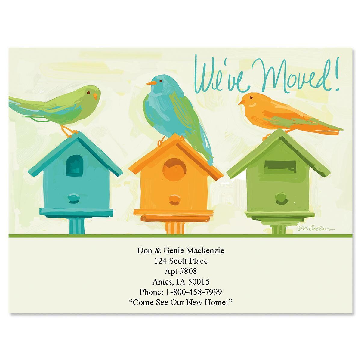 Bye Birdie Postcards