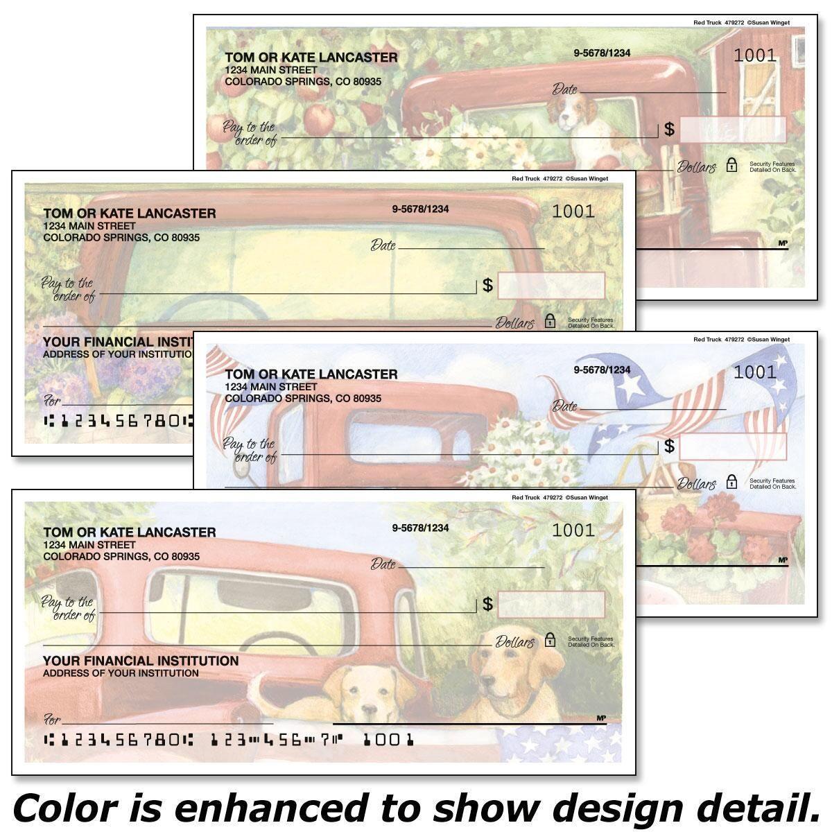 Red Truck Duplicate Checks