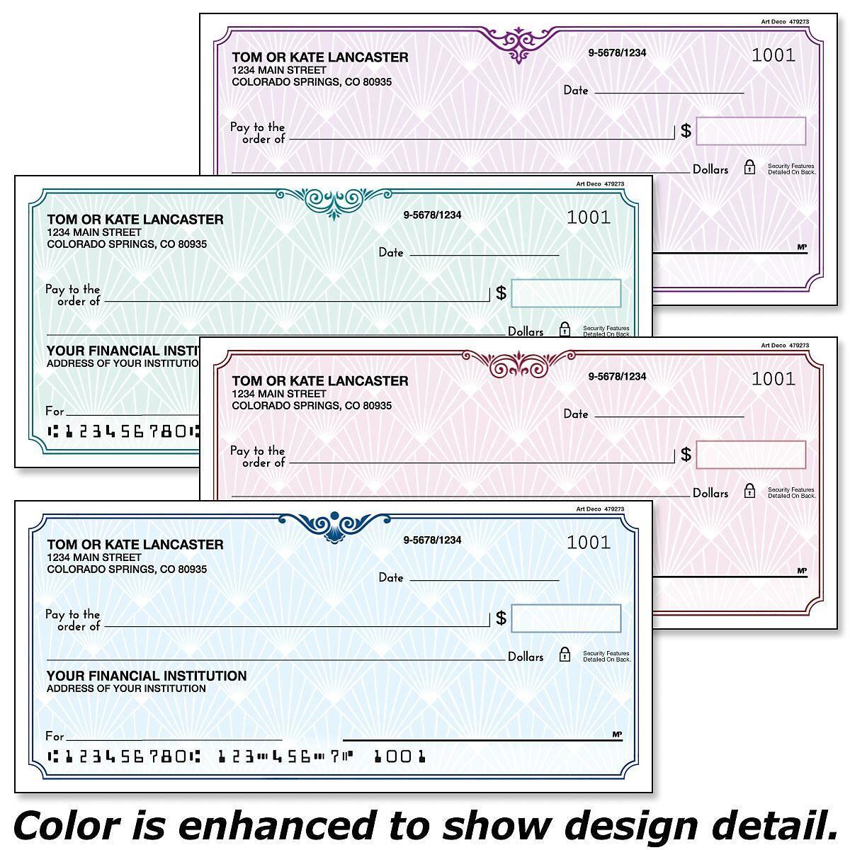 checks duplicate personal single deco cool check stub catalog colorful unique colorfulimages